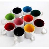 Inner Rim Color Mugs