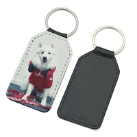 PU Leather Keyrings